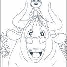 Imagenes para Colorear Ferdinand 9