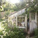 Wirklich verzauberter Garten - Die charmantesten Gartenhäuser auf Pinterest - Süd ... - Garte...