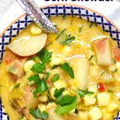 Potato, Leek & Corn Chowder