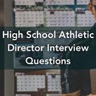 High School Athletic Director Interview Questions