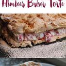 Sonntagskuchen | Himbeer Baiser Torte | Schnelles Torten Rezept