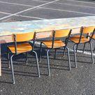 Table De Ferme Bois