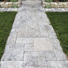Travertin Caballo Grau Naturstein Kalkstein – AlphaStone