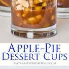 Easy Apple Pie Dessert Cups (video)