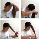 A DIY Layered Haircut: How to cut your hair at home! | ashley c. chin