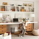 Clean And Bright, Boho Home Office Inspiration Ideas