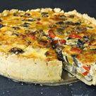 Ratatouille-Quiche (Gemüsekuchen) - Madame Cuisine