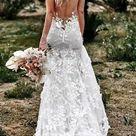 BOHO Nymphe Brautkleid ätherisches Kleid Boho Brautkleid   Etsy