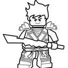 Kai Ninjago coloring pages for kids, printable free. Lego coloring page