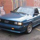 Rare & Clean 1984 Audi Ur Quattro Coupe