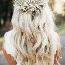 33 Wedding Hairstyles With Flowers For Your Fairytale Day