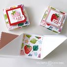 Erdbeerige Triangel-Box – mit Video-Tutorial