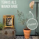 Türkis Wandfarbe