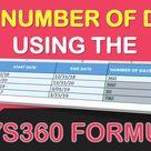 DAYS360 Formula in Excel   MyExcelOnline