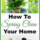 How To Spring Clean Your Home- Spring Cleaning 101- A Cultivated Nest