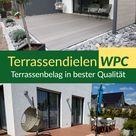 WPC Terrassendielen hochwertig und robust, in Grau, Anthrazit, Braun und Schwarz