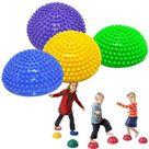 4pcs Sensory Balance Stepping Stones Set Integration Training Equipment Foot Acupoint Massage Tactile Ball For Kids Adults
