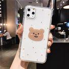 KAWAII CARTOON BEAR CUTE PASTEL PHONE CASE - For 7Plus or 8Plus / style6