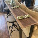 Pub Table / Counter Height Sofa Table / Bar Table