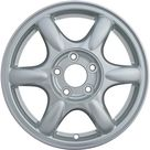 16 X 6.5 Reconditioned OEM Aluminum Alloy Wheel, Sparkle Silver, Fits 2000 2004 Buick Regal