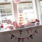 Shades of Pink & Gray Baby Shower Party Ideas | Photo 29 of 64