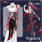 15.52US $ 41% OFF|UWOWO Genshin Impact Rosaria Cosplay Game Suit Costume Dress Uniform Anime Special For Halloween Costumes For Women Outfit|Game Costumes|   - AliExpress