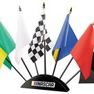 NASCAR BSI 7-Piece Race Flag Set NASCAR, Team Color - Team Color