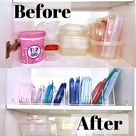 How To Organize Your Tupperware (Easy & Affordable)