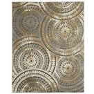 Home Decorators Collection Spiral Medallion Cool Tones Grey 5 ft. 3-inch x 7 ft. 3-inch In... | The Home Depot Canada