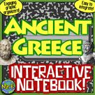 Ancient Greece Interactive Notebook Greek Geography, Polis, Government, More