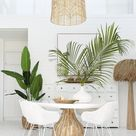 St James Dining Table   White