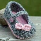 Babyschuhe häkeln - 100 wunderschöne Ideen! - ArchZine