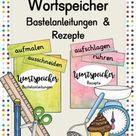Wortspeicher Vorgangsbeschreibung – Unterrichtsmaterial im Fach Deutsch