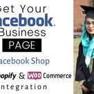 I will design, create and optimize facebook business page and shop