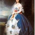 Grand Duchess Olga by Franz Xaver Winterhalter (1865) - Olga Nikolajewna Romanowa (1822–1892) – Wikipedia