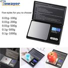 Generico Mini Kitchen Scale Jewelry Stainless Steel 0.01g Electronic