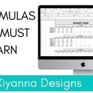 BASIC EXCEL FORMULAS | ADD, SUBTRACT, MULTIPLE, AVERAGE