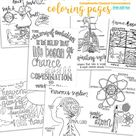 4th EDITION Cycle 3 SCIENCE coloring pages