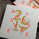 Galerie letterpress faire-part naissance carte voeux visite