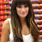 Lea Michele Picture in White Dress