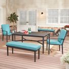 Mainstays Rockview 5-Piece Outdoor Dining Set