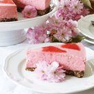 Erdbeer-Joghurt-Torte mit Schoko-Keks-Boden - Fashion Kitchen
