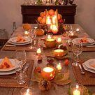 Tischdeko für den Herbst   6