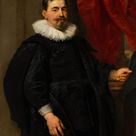 Peter Paul Rubens, 1630 - Portrait of a Man, possibly Peter van Hecke (1591-1645) - fine art print - Acrylic glass print (with real glass coating) / 60x80cm - 24x31