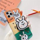 Funny Panda & Rabbit iPhone Case   For iphoneX / WY153 4