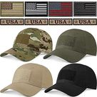 Geyoga Military Patch Hat Tactical Army Hats USA Flag Operator Cap for Men   Camo, Black, Army Green, Khaki / 4