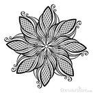 Schöne Deco-Mandala (Vektor) Vektor Abbildung - Illustration von dekoration, ansammlung: 35478965