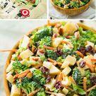 This Healthy Broccoli Apple Salad isthe perfect side dish!