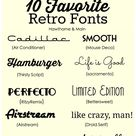 Great Fonts
