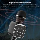 New DS 878 Wireless Bluetooth Microphone with Built-in HIFI Speaker For iPhone and Android - Blue